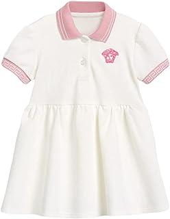 فساتين بولو OFIMAN للفتيات الصغار بأكمام قصيرة ملابس صيفية للبنات مقاس 2-7 سنوات