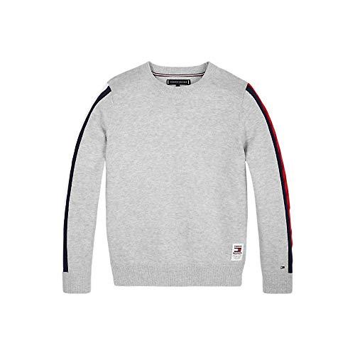 Tommy Hilfiger KB0KB05406 Cable Sleeve T-shirts en trui unisex voor jongens