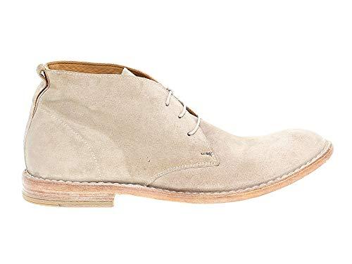 MOMA Herren 14802 Beige Wildleder Desert Boots