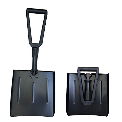 Fantastic Prices! Multifunctional Snow Shovel Tools Retractable Winter Camping D Shaped Handle for C...