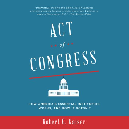 Act of Congress audiobook cover art