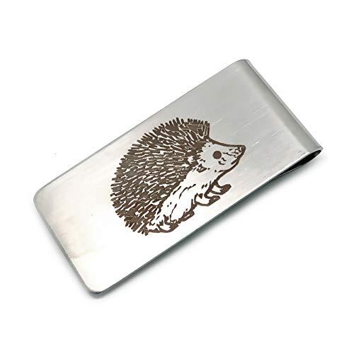 BOBIJOO Jewelry - Fermasoldi in Acciaio 316 Mat Riccio Templari Leone massone Scelta 55x26mm - Riccio