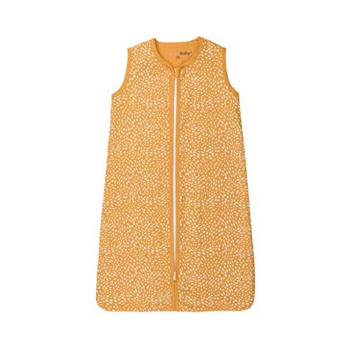 Briljant Minimal - Saco de dormir para verano (110 cm), color amarillo