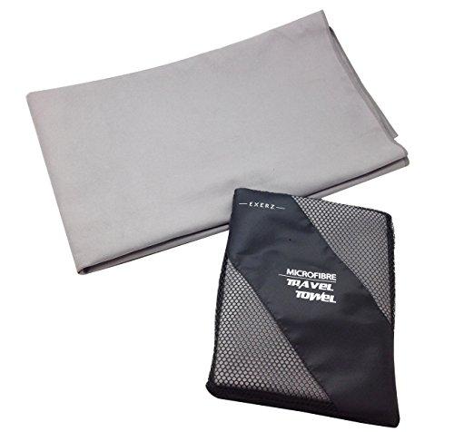 EXERZ Microfibra Extra Grande XL Toalla para Viaje / Toalla para Deporte...