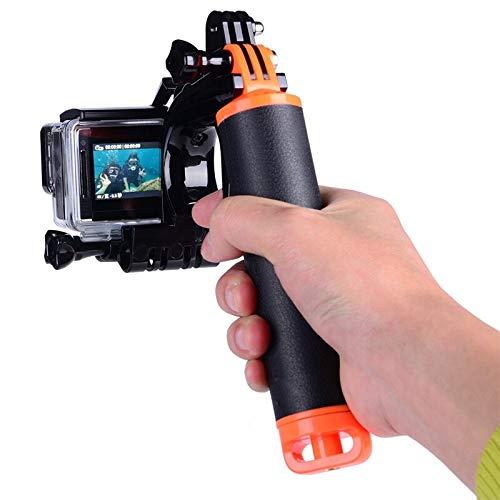 FUQUANDIAN Gatillo de la Pistola de obturación a Prueba de Agua Kit de gatillo empuñadura Flotante Compatible con GoPro Hero 5 6 7 Acción Cámaras Accesorios Accesorios de Soporte