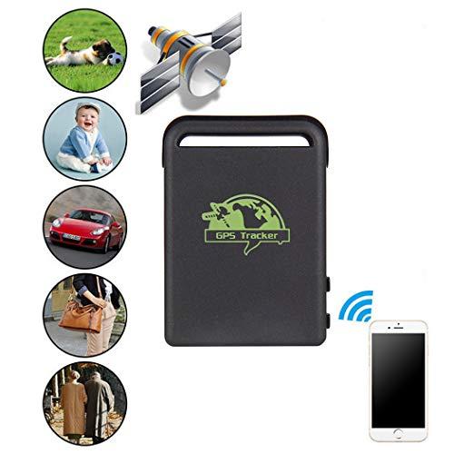 Fansport Dispositivo Localizador De Seguimiento De GPS En Tiempo Real Mini GPS para Vehículos Personas Activo