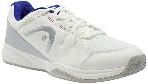 HEAD Brazer Women, Chaussures de Tennis Femme, Blanc (White/Blue Whbl), 43 EU