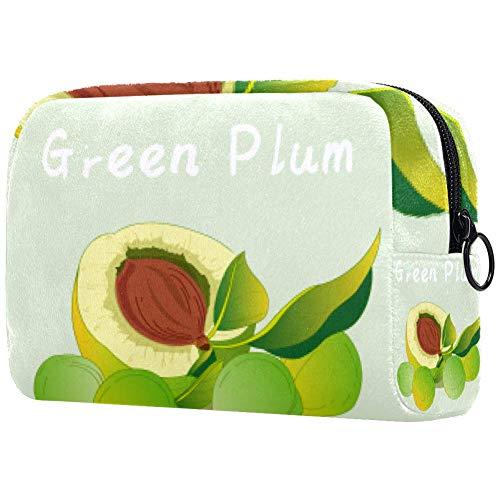 Make-up-Pinsel-Tasche, tragbar, Kulturbeutel für Frauen, Handtasche, Kosmetik, Reise-Organizer,...