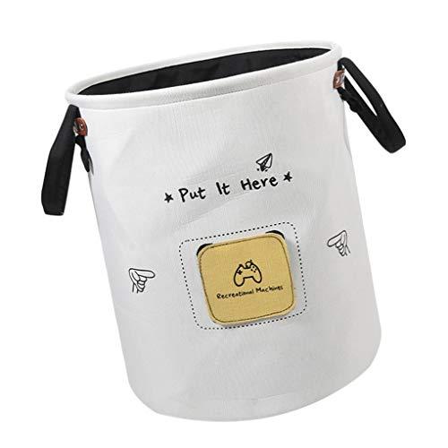 Guangcailun Schmutziger Kleidung Leinwand Sundries Korb Etiketten Folding Spielzeug Organizer Haushaltsbüroaufbewahrungsbehälter