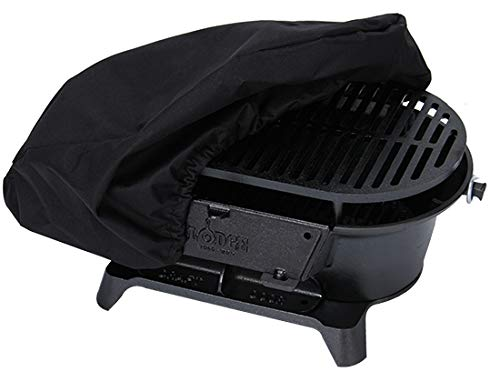 Lodge Cast Iron Sportsman's Grill. Large Charcoal Hibachi-Style Grill for Picnics, Tailgaiting,...
