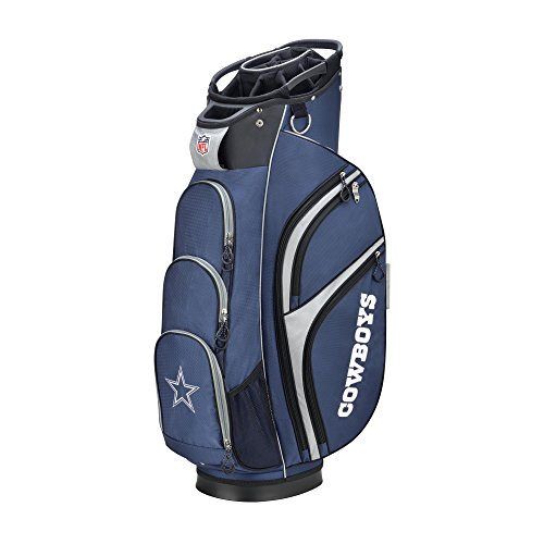 Wilson Sporting Goods 2018 NFL Golf Cart Bag, Dallas Cowboys, Blue/Silver