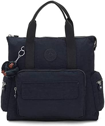 Kipling Alvy 2 in 1 Convertible Tote Bag Backpack True Blue Tonal product image