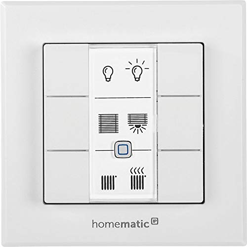 ELV Homematic IP ARR-Bausatz Wandtaster 6-Fach HmIP-WRC6, für Smart Home/Hausautomation