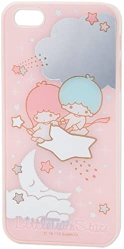 Little Twin Stars iPhone5 cover (mirror-like) (japan import)