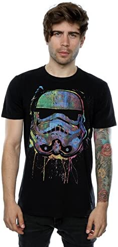 STAR WARS Hombre Stormtrooper Paint Splats Camiseta