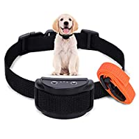 【Only Vibration Mode】This dog barking collar only has vibration mode and no sound mode. While stop dog barking, it will not make secondary noises, allowing you to work in a quiet environment 【Rechargeable & Waterproof No Bark Collar】This dog barking ...