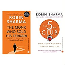 The 5 AM Club + The Monk Who Sold His Ferrari ( Set of 2 Books )