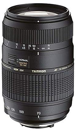 Tamron A17NII - Objetivo para Nikon (70-300mm, f/4-5.6, Macro, AF, 62 mm) color negro