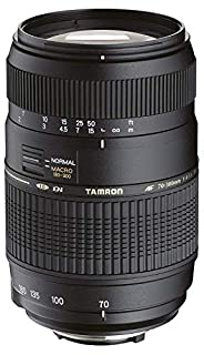 "Tamron AF017NII-700 AF 70-300mm 4-5,6 Di LD Macro 1:2 digitales Objektiv mit ""Built-In Motor"" für Nikon (B0012UUP02) 