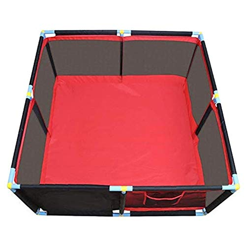 Read About Byrhgood Playpen Baby Portable 8-Panel Baby Playpen with Thickened Crawling Mat, Non-Slip Playground, Suitable for Toddlers, Indoor/Outdoor – 66cm High