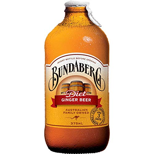 12 x Bundaberg Diet Ginger Beer (12 x 375 ml) Australian Import