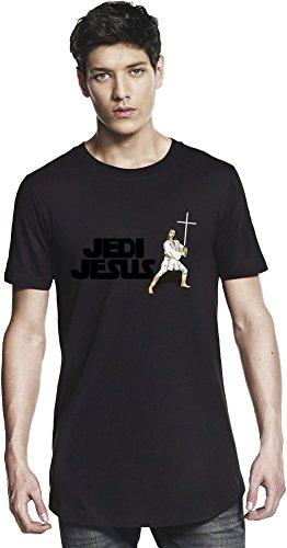 Jedi Jesus Funny Long T-shirt Large