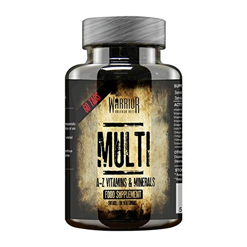 Warrior Supplements Advanced Multi Vitamins 60 Tabs