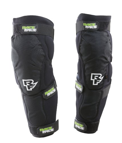 RaceFace Flank Leg Guard, Stealth, Large