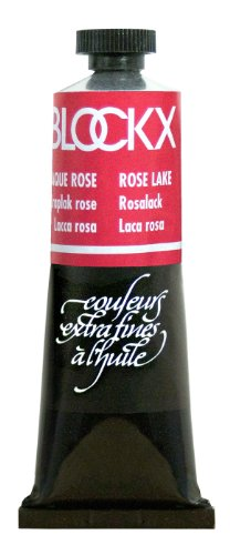 Blockx Rose Lake Oil Paint, 35ml Tube