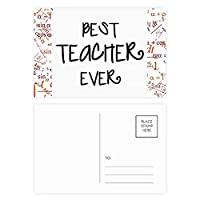 これまでに最高の先生の言葉を引用 公式ポストカードセットサンクスカード郵送側20個