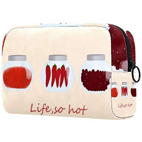 Sac cosmétique Life So Hot Adorable Sacs de maquillage spacieux Voyage Trousse de toilette Organisateur Accessoires