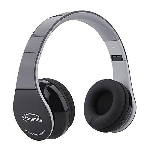 Andoer - Cuffie Bluetooth 4.0, wireless, pieghevoli, con vivavoce, con microfono, per Smartphones, computer portatili, notebook, tablet, PC