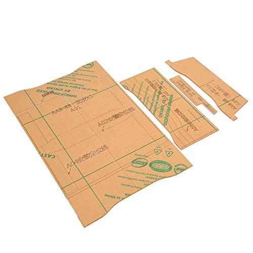 Brieftasche Acryl Schablone Klare Acryl Schablone, Brieftasche Werkzeuge für DIY Leder Handwerk