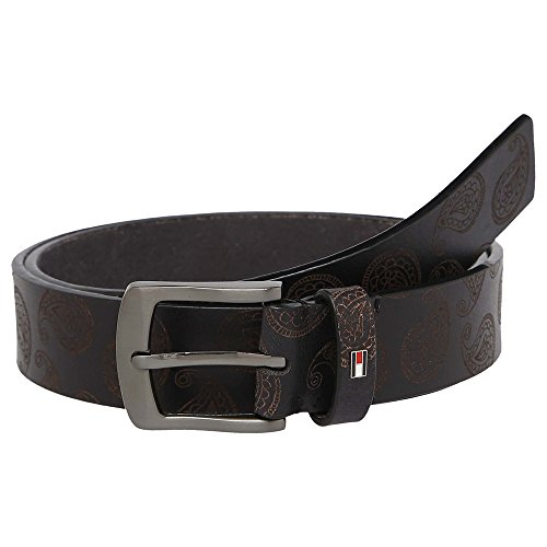 Tommy Hilfiger Men's Leather Belt (8903496096514_TH/HIN.P01L/BLK)