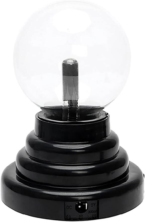 SHINFA 3 Inch Bargain Plasma Ball Battery USB Lightning Powered depot Pl