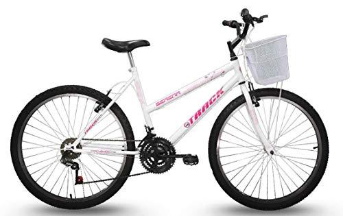 Bicicleta, Track Bikes, Aro 26, Serena, Branca