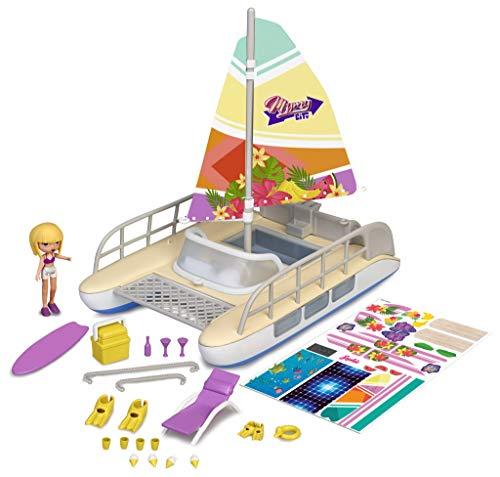 Mymy City Sun Day Catamaran - Barco catamarán con Figura y Accesorios para niños y niñas a Partir de 4 años - (Famosa 700016285)