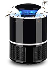 Electric Mosquito Killer Benkeg Electric Mosquito Killer USB UV Lamp Bug Zapper Insect Flies Killer Repeller Eliminator Catcher Mosquito Trap with Tray Lamp No Noise