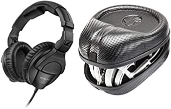 Sennheiser HD 280 PRO Closed, Around-The-Ear Headphones with Slappa Case