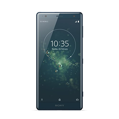 "Sony Xperia XZ2 Smartphone, Display 5.7"", 64 GB, Mono Sim, Verde Intenso [Italia]"