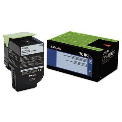 LEXMARK International 70C10K0 70C10K0 Toner (LEX-701K) 1000 Page-Yield, Black Photo #5