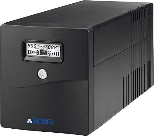 Lapara LA-VST-1000LCD Sistema de Alimentación Ininterrumpida SAI 1000VA 600W LCD Interactivo