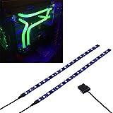 PC LEDストリップは磁石を持って、PCケースに飾ります照明(LED UV、30cm、18leds、Sシリーズ)