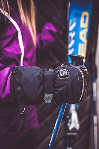 Alpenheat Beheizter Ski Snowboard oder Motorradhandschuh - 8