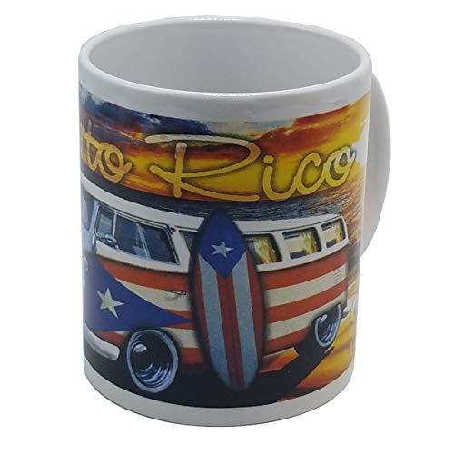 Puerto Rico Coffee Mug Volky & Surfboard
