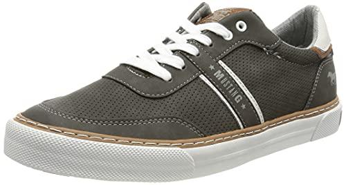 MUSTANG Herren 4163-301 Sneaker, Dunkelgrau, 42 EU