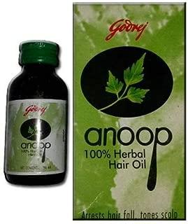 Anoop 100% Herbal Indian Hair Oil, 50 ml