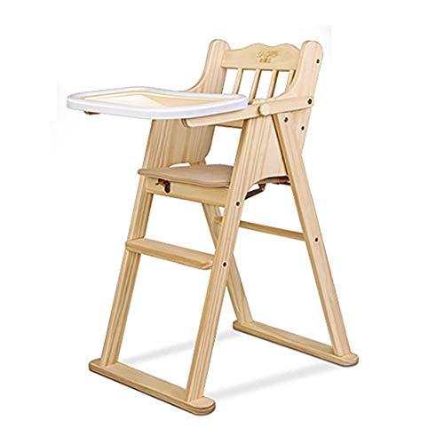 ZYLZL Stuhl Klapphocker Sitz Fuß Hocker Bank, Kinder 's Verstellbar Hoch Baby Faltbar Esstisch Baby Tragbarer Esstisch