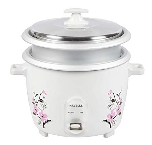 Havells GHCRCCGW070 1.8 Litre Electric Cooker (White)