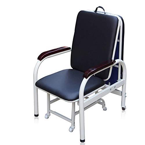 Multi-functionele begeleidende stoel bed dual-use opvouwbaar wanneer de stoel kan ook worden geopend als een bed rust geschikt voor ziekenhuis rust kantoor lunch pauze stoel versterking huis eenpersoons bed stoel, roze